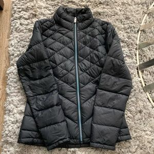 Lucy Black Down Puffer Jacket